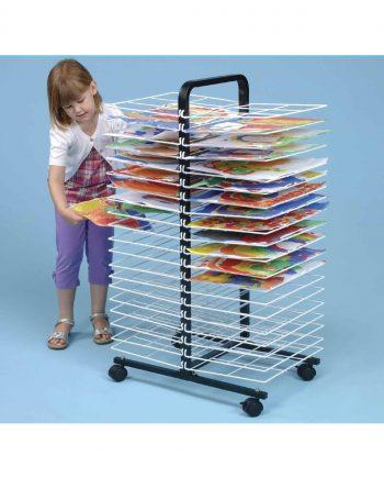 Mobile drying racks