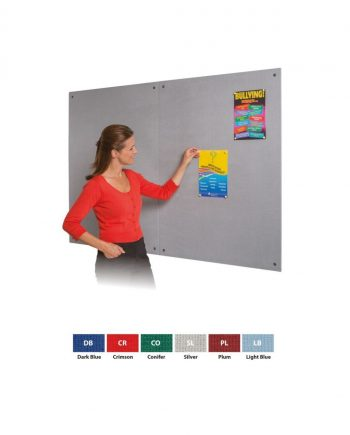 Resist-a-Flame® Frameless Fire Retardant Noticeboards