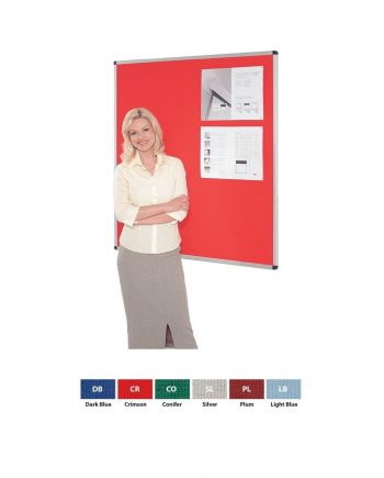 Resist-a-Flame® Aluminium Framed Fire Retardant Notice Boards