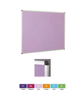 ColourPlus® Aluminium Framed Noticeboards
