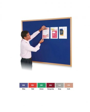 Eco-Friendly Felt or Cork Covered Noticeboards