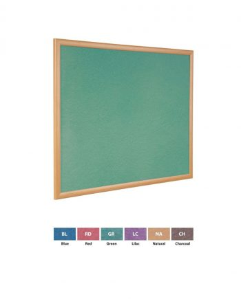 Eco-Friendly Light Oak Recycled Noticeboards