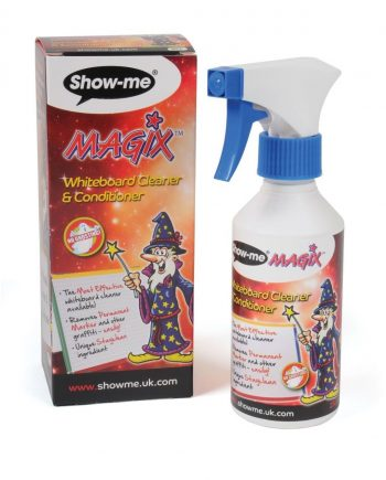 Magix whiteboard cleaner