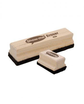 Show-me wooden handled erasers