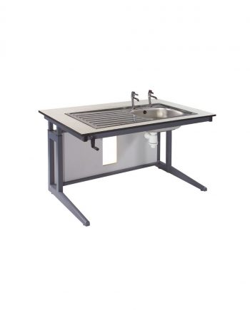 Height adjustable sink