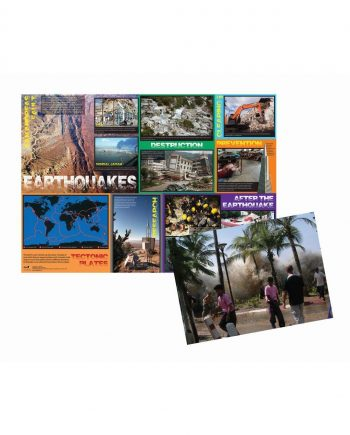 EARTHQUAKES POSTER & PHOTOPACK