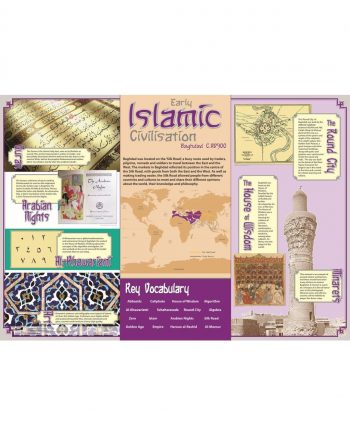 Early Islamic Civilisation Poster