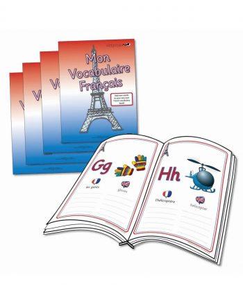 French Vocabulary Books / Mon Vocabulaire Français