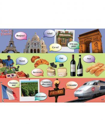 French Frieze / Vive La France Frieze