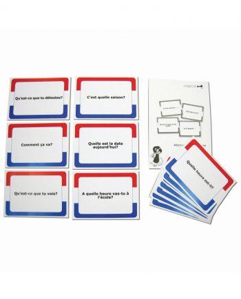 French Conversation Cards / Allons-y! La Conversation