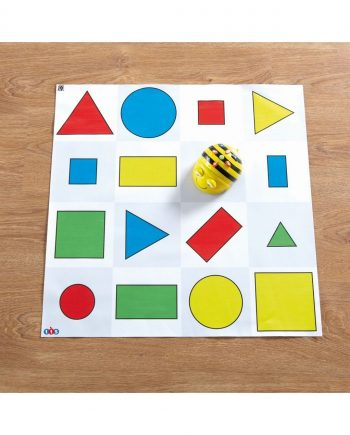 Bee-Bot Shapes, Colour & Size Mat