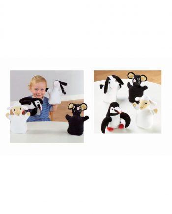 Black & White Puppet Pals