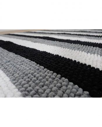 Black & White Cosy World Carpet