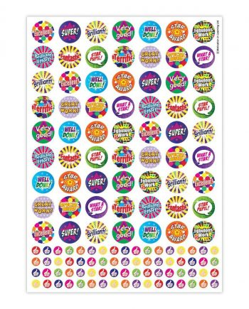 ASSORTED PRAISE STICKERS BUMPER PACK 25MM AND 10MM 1310