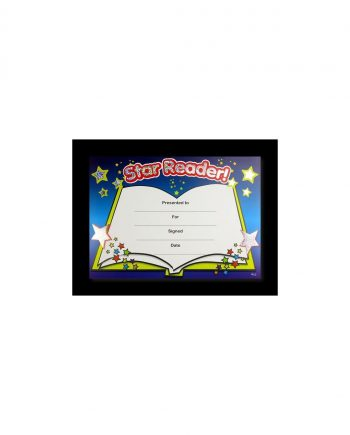 SPARKLING STAR READER AWARD CERTIFICATE A5