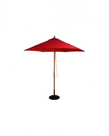 BLACK ROUND PARASOL BASE