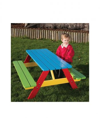 PAINTED A FRAME PICNIC TABLE