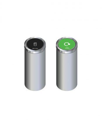 Torpedo Single Recycling Bin