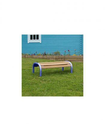 Children's Single Wooden Bench