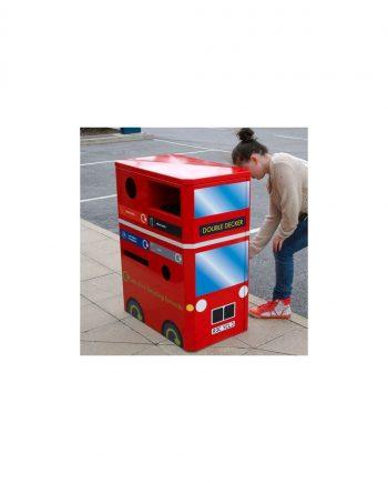 Double Decker Recycling Bin