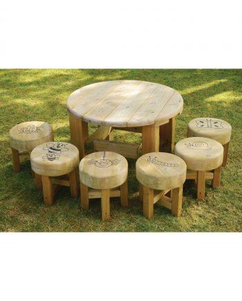 Bug Table And Stools Set