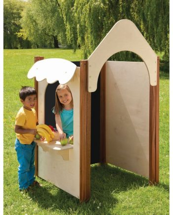 Outdoor Play Panels Playhouse Set