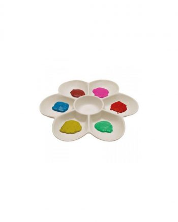 Large Plastic Flower Palette 7 Well