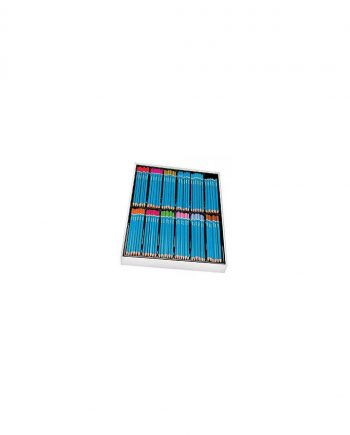 Triangular Colour Pencils Class Pack Assorted Box