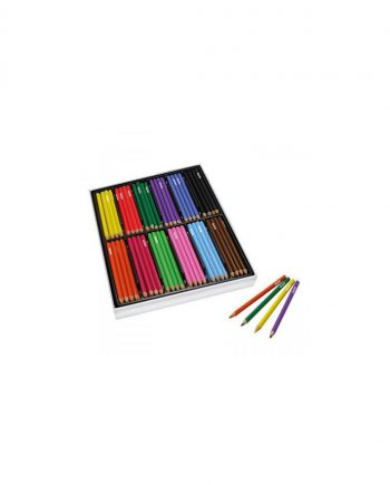 Giant Triangular Coloured Pencils Assorted Box