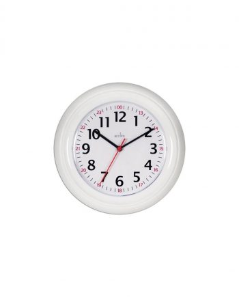 24 Hour Plastic Wall Clock