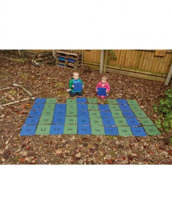 1 - 50 Number Tiles