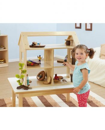 Wooden Toddler Dolls House