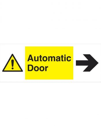 AUTOMATIC DOOR TO THE RIGHT
