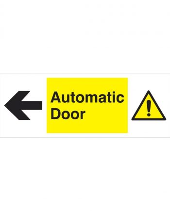 AUTOMATIC DOOR TO THE LEFT