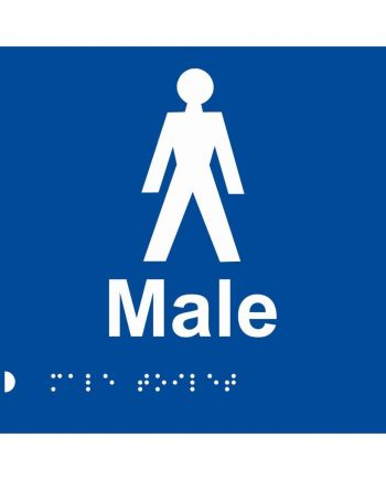 BRAILLE SIGN MALE