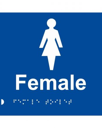 BRAILLE SIGN FEMALE