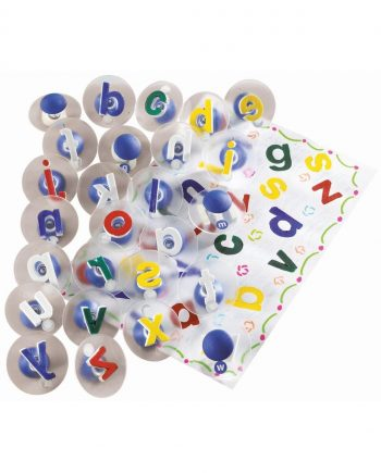 Alphabet Lower Case Paint Stampers