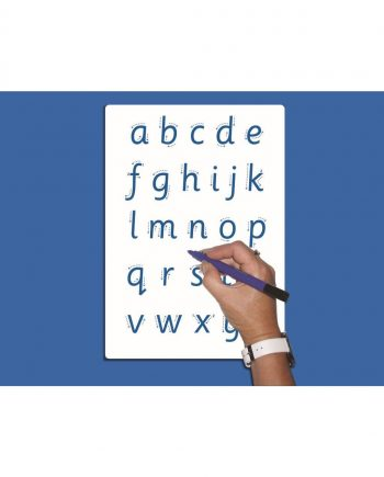A4 Letter Formation Whiteboard - PRINT