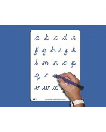 A4 Letter Formation Whiteboard - CURSIVE