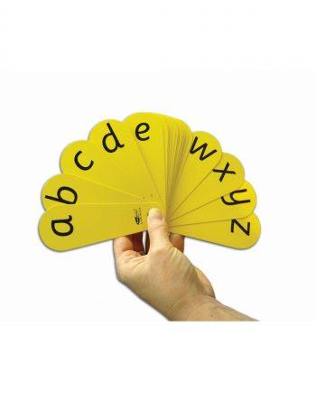 Alphabet Fan