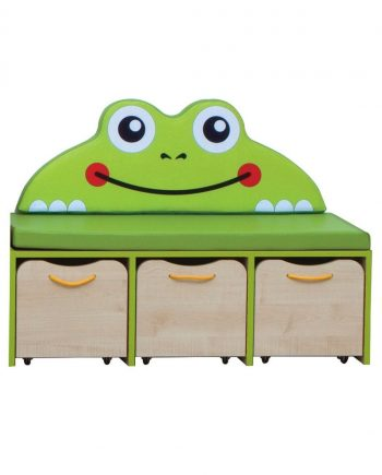 Nature small storage unit green edging