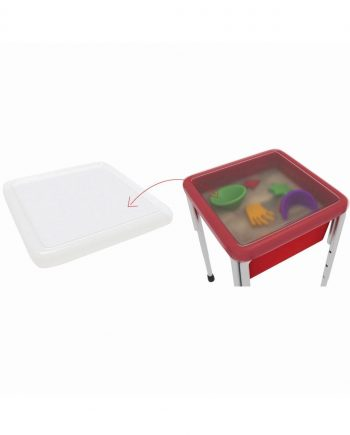 Top for square play tub