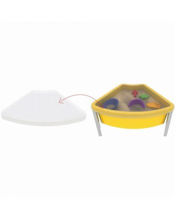 Top for fan shaed play tub