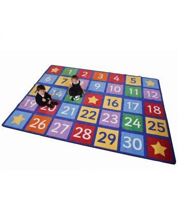 Numbers rug