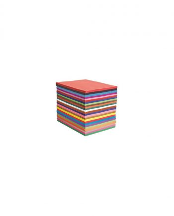 Construction Paper School Stacks