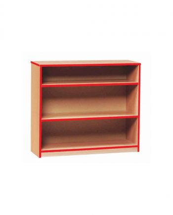 Colourful Edge Open Bookcase