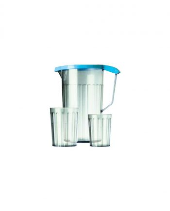 Antibacterial Clear Jug with Lid