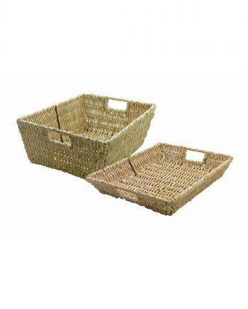 Maize Shallow Basket