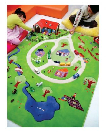 3D Activity Play Rugs