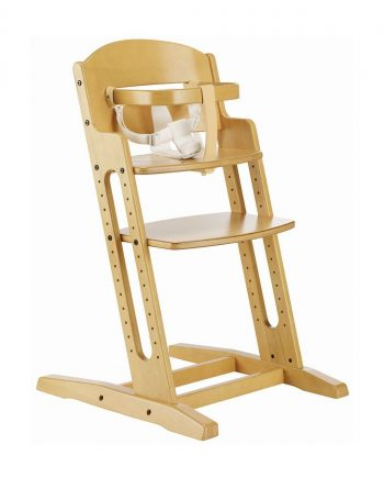 BabyDan Wooden High Chair